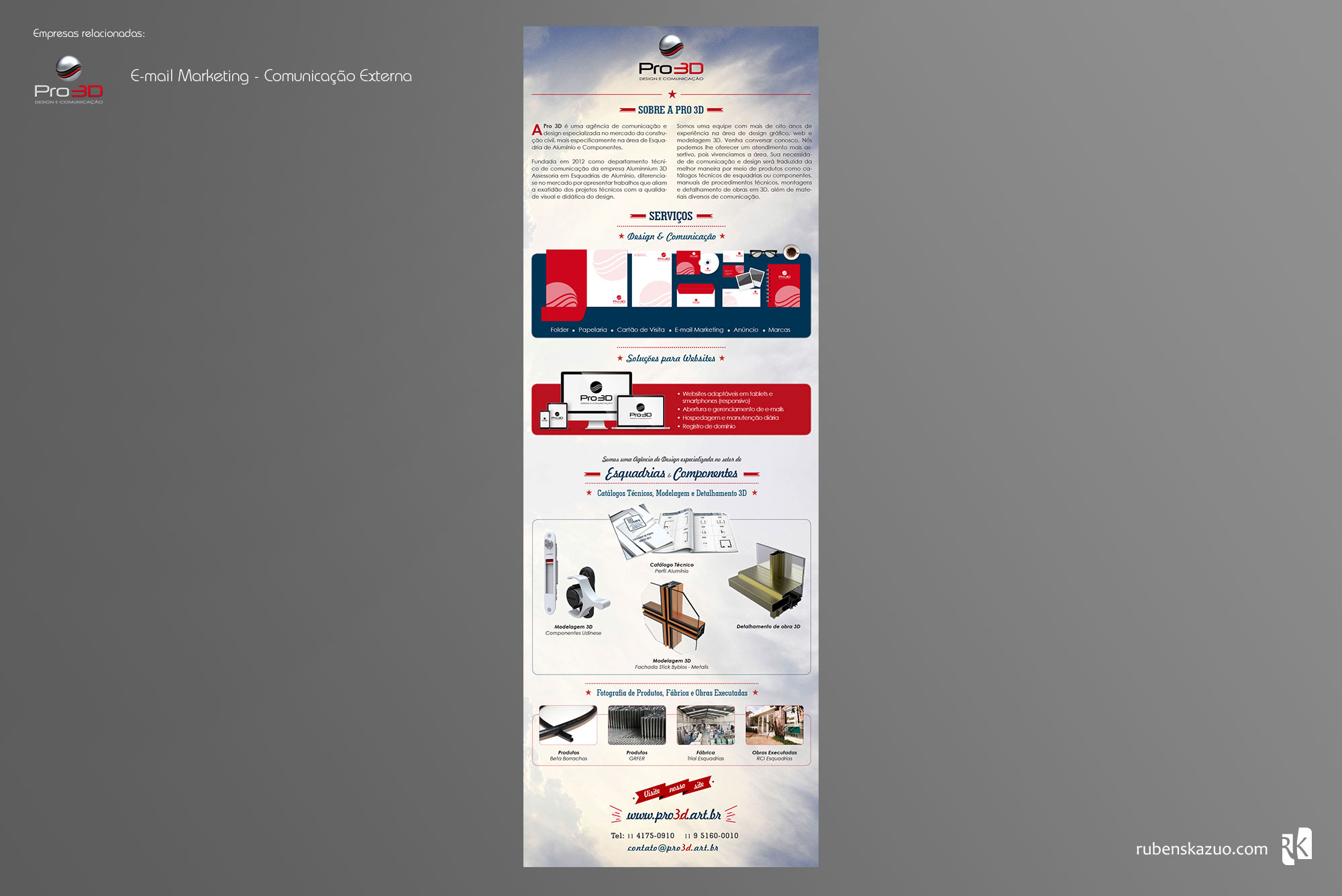 Email Marketing Pro3D
